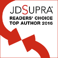 JD Supra Readers' Choice Top Author 2016 badge image