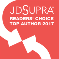JD Supra Readers' Choice Top Author 2017 badge image